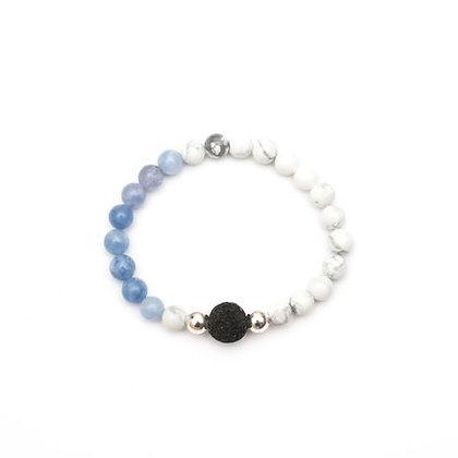Dahlia - Angelite Diffuser Bracelet