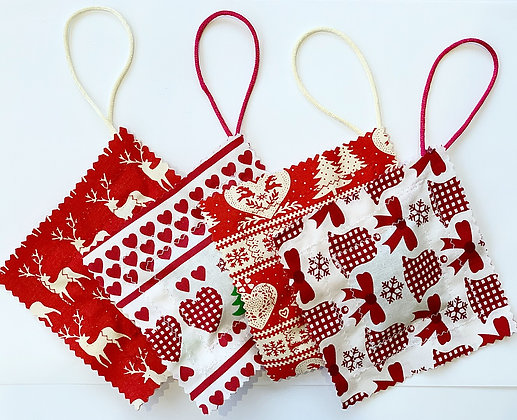 Xmas pantry pillow (cloves) - set of 3 *Special*
