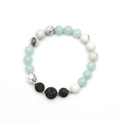 Zinnia - Amazonite Diffuser Bracelet