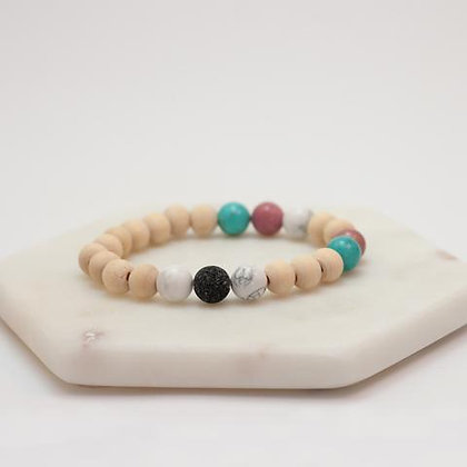 Light And Love Lava Diffuser Bracelet