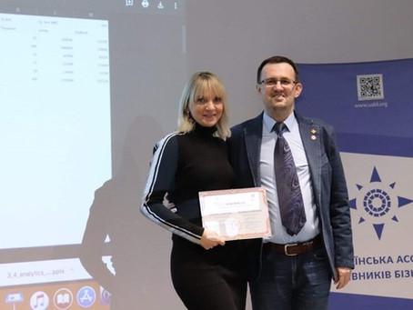 Людмила Савицька: Для мене навчання на МВА програмі – це цінні знання в різних напрямках бізнесу