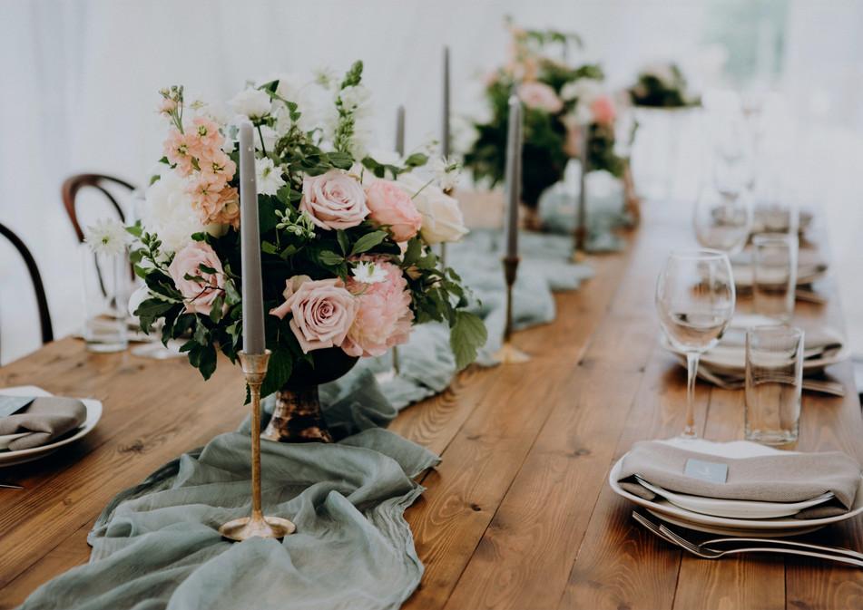 Svatební dekorace tabule
