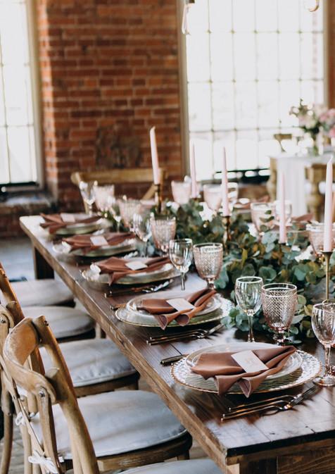 Svatební výzdoba tabule