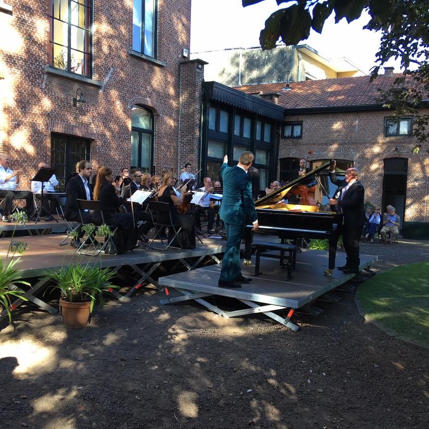 Kamerorkest en piano solist