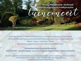 tuinconcert 9 september