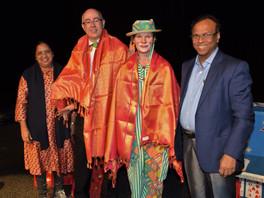 Hoog bezoek uit India voor Frankini's goochelshow