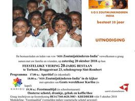 20 jaar zoutmijnkinderen uitnodiging 20 oktober