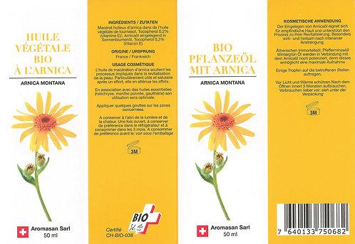 Macérat huileux d'ARNICA 50 ml