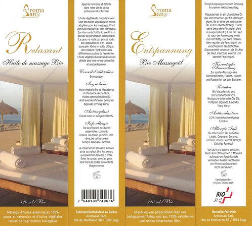 Huile de massage RELAXANT 120 ml