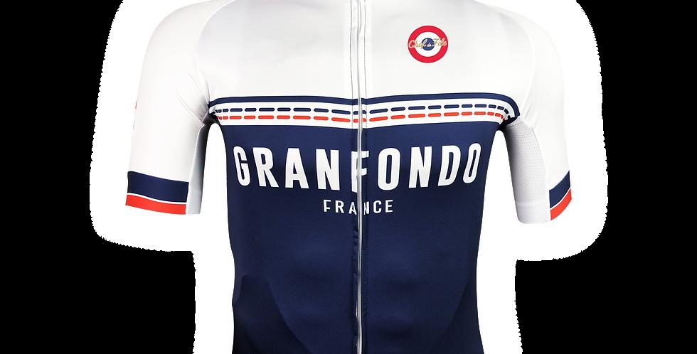 Maillot replica Granfondo France
