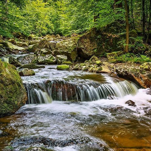 Waterfall - Guided Meditation MP3 (19.32 min)