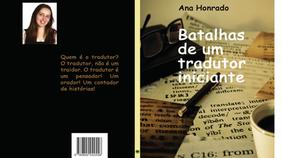 """Self-Publishing : """"Batalhas de um Tradutor Iniciante"""" by Ana Honrado"""