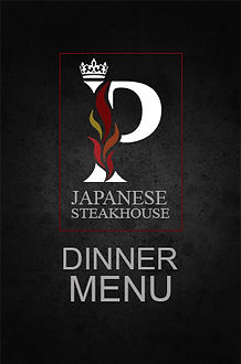 Prince Japanese Steakhouse Dinner Menu