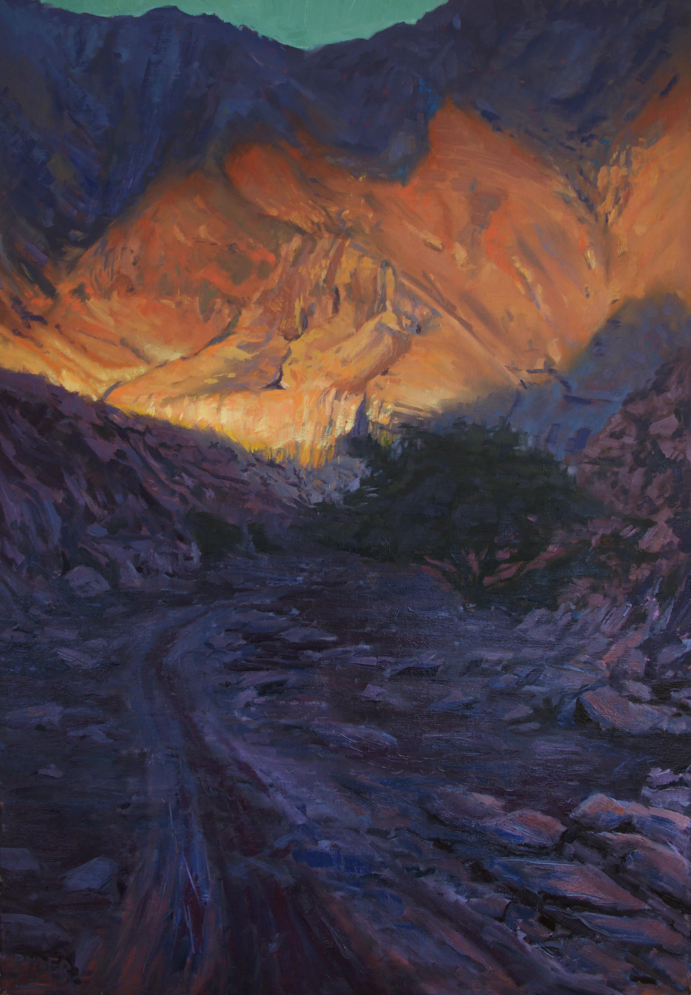 Daybreak - oil on linen