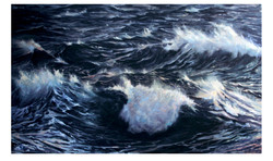 Choppy Waters - Oil on Canvas