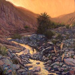 Wadi Shawka sunset