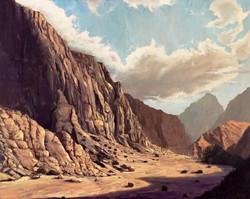 Jebel Jais mountain pass