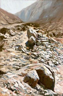 Jebel Hafeet Rock trail
