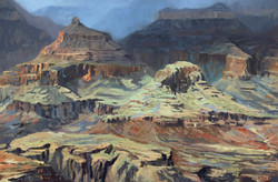 Silence in the Canyon - Oil on Linen