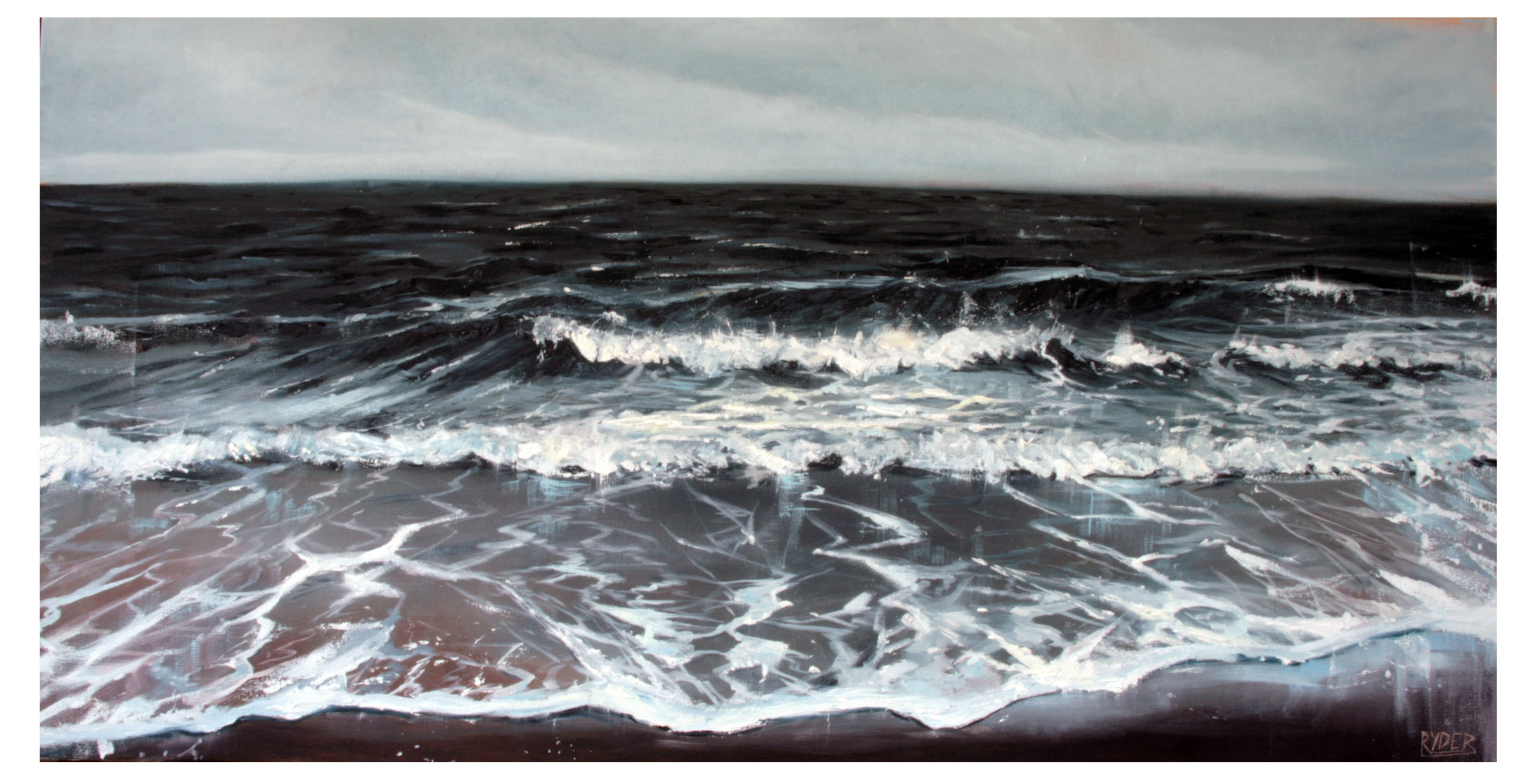 Tides - Oil on Canvas