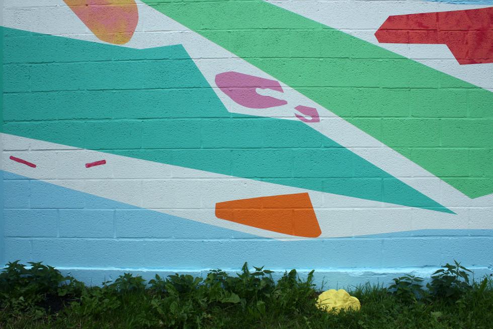 Passage, ces couleurs qui se lovent sur les murs