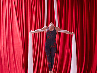 Aerial Yoga and the Art of Letting Go