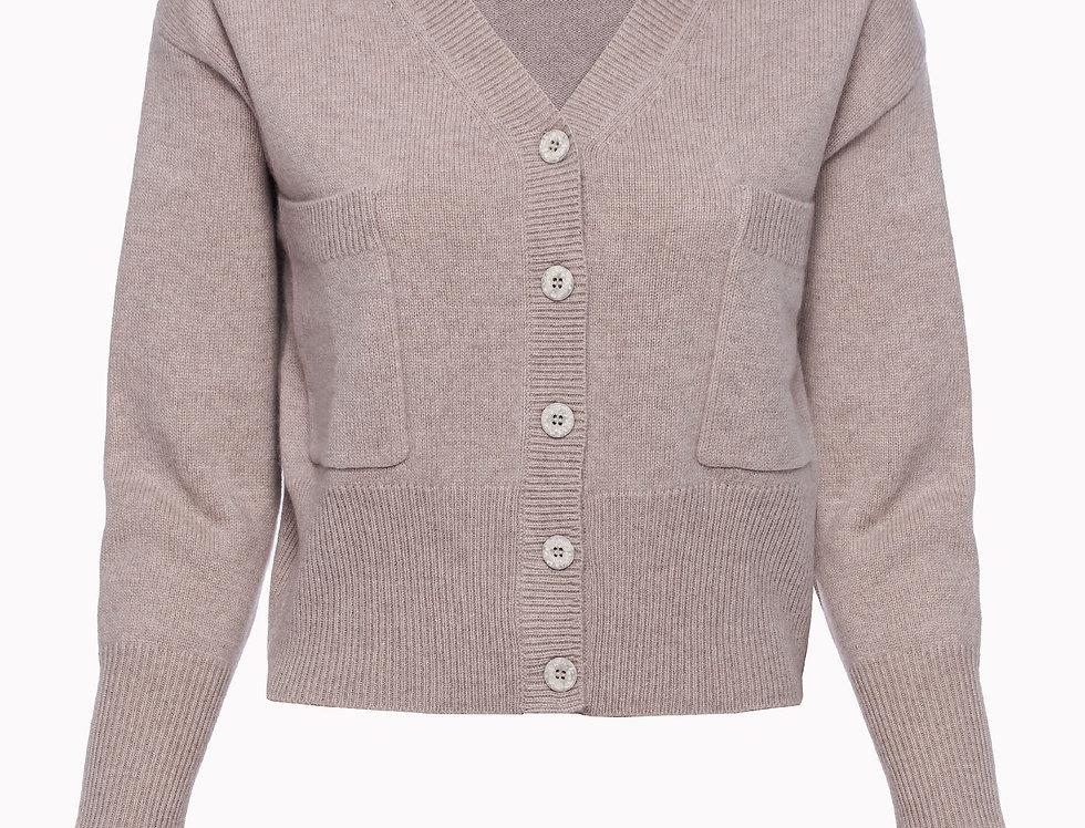 Susagstomas kašmyro megztinis