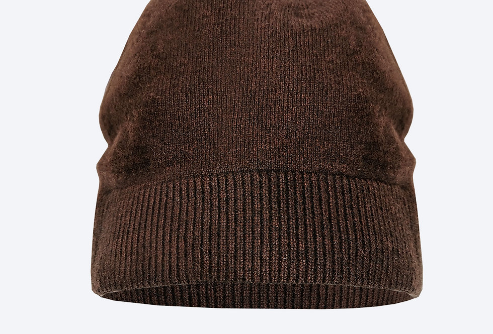 Kašmyro kepurė ruda