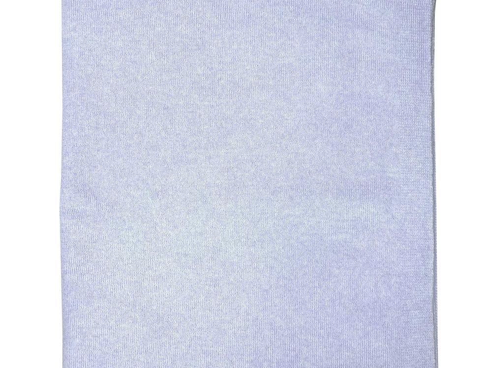 Šv. žydros spalvos kašmyro ir merino vilnos šalikas