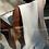 Thumbnail: DIONISO  žydras merino vilnos pledas