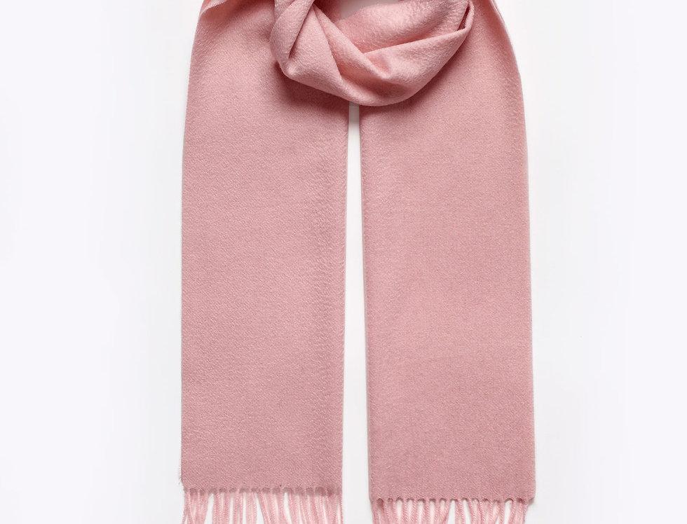 Kašmyro šalikas 180x30 cm rožinis