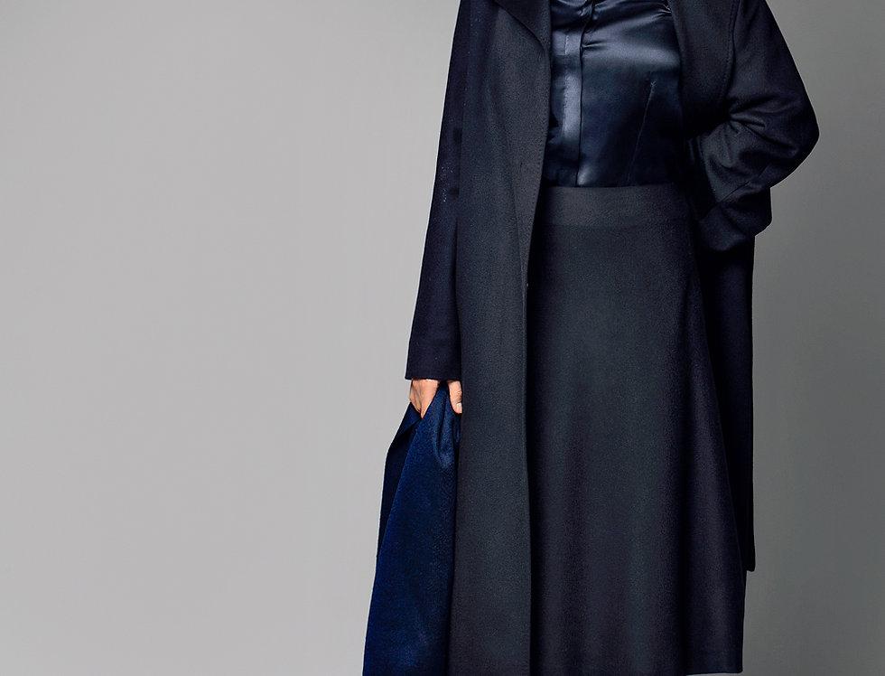 Prabangus kašmyro paltas