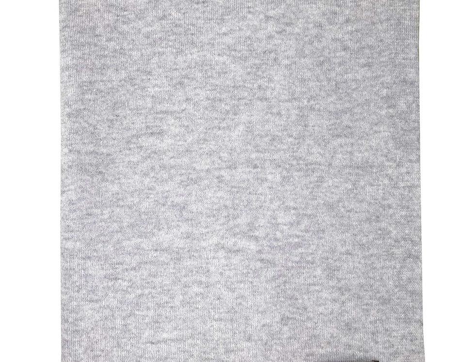 Šv. pilkos spalvos kašmyro ir merino vilnos šalikas