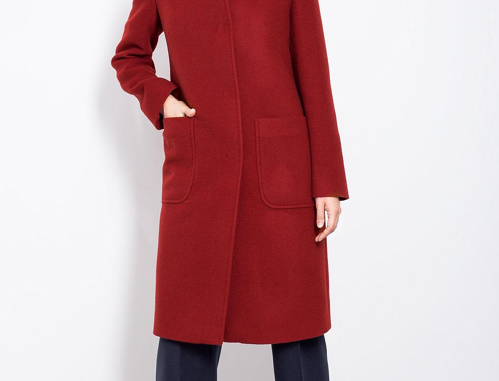 Kašmyro vilnos klasikinis paltas