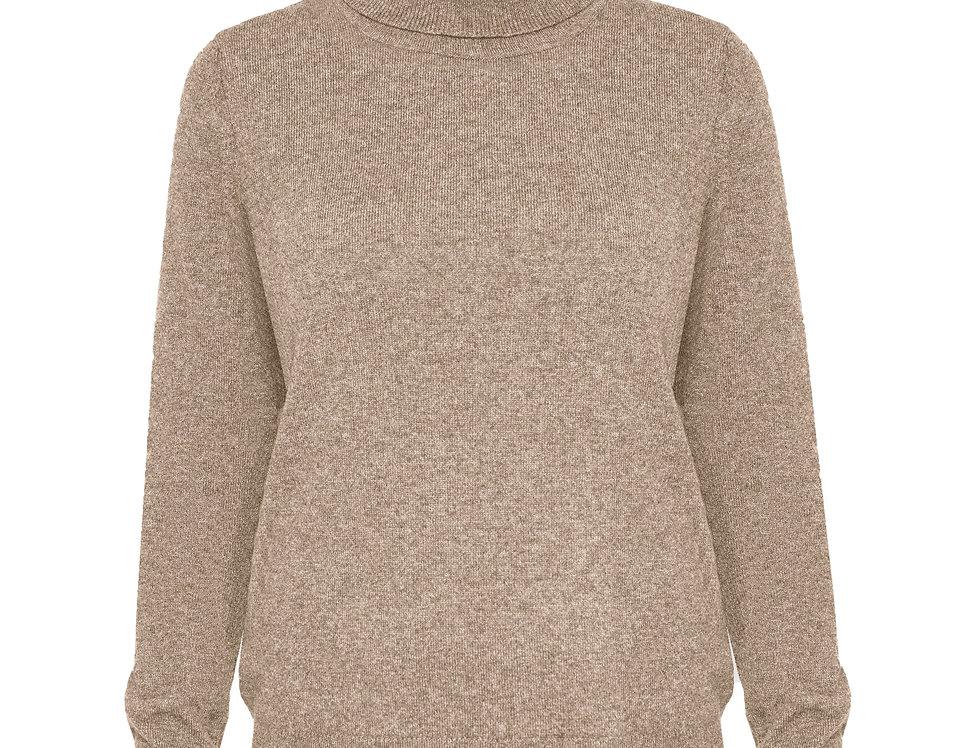 Kašmyro megztinis su stove smėlio sp.