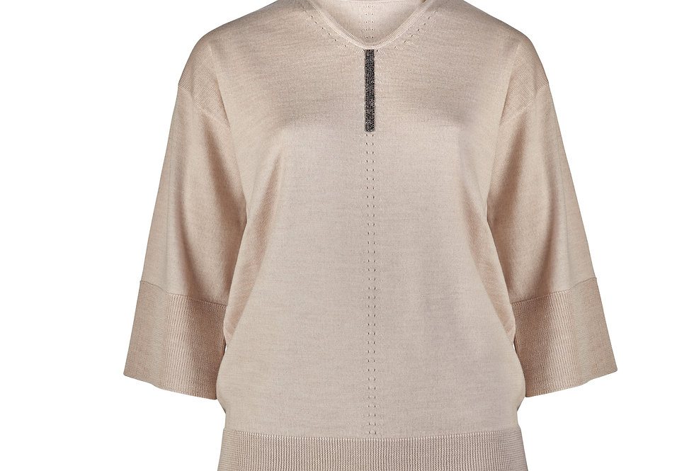 Šilko, kašmyro ir merino vilnos KIMONO megztinis