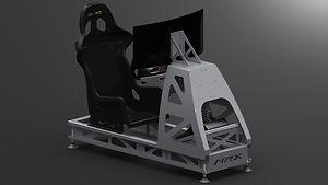 MRX Sim 30-4-2020 Front 3D Black BG 4K.J