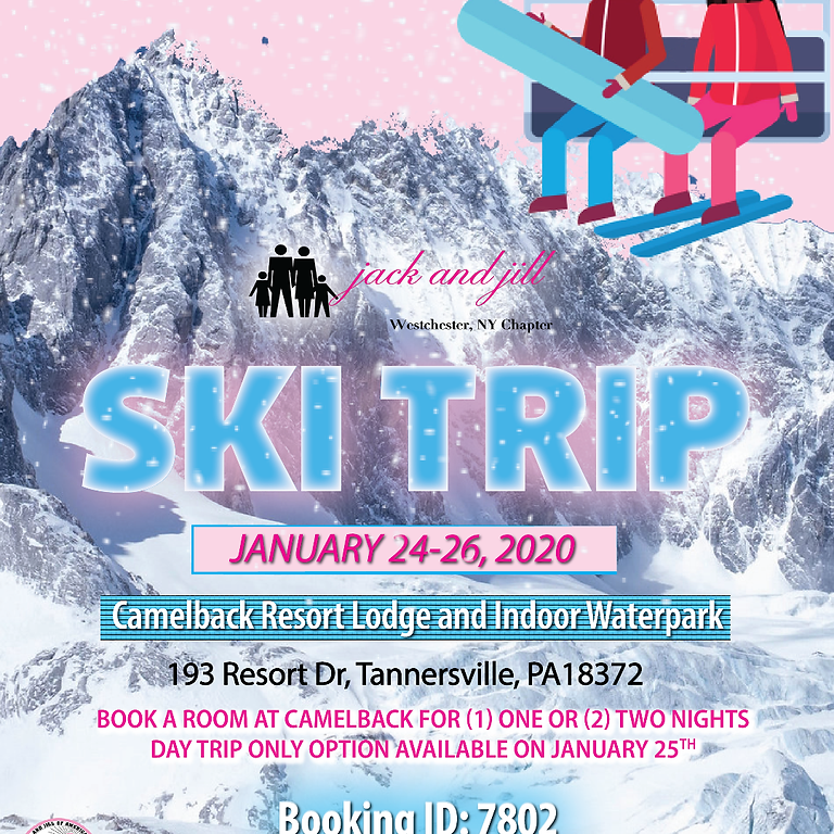 Jack and Jill of America, Westchester Chapter  - Annual Ski Trip