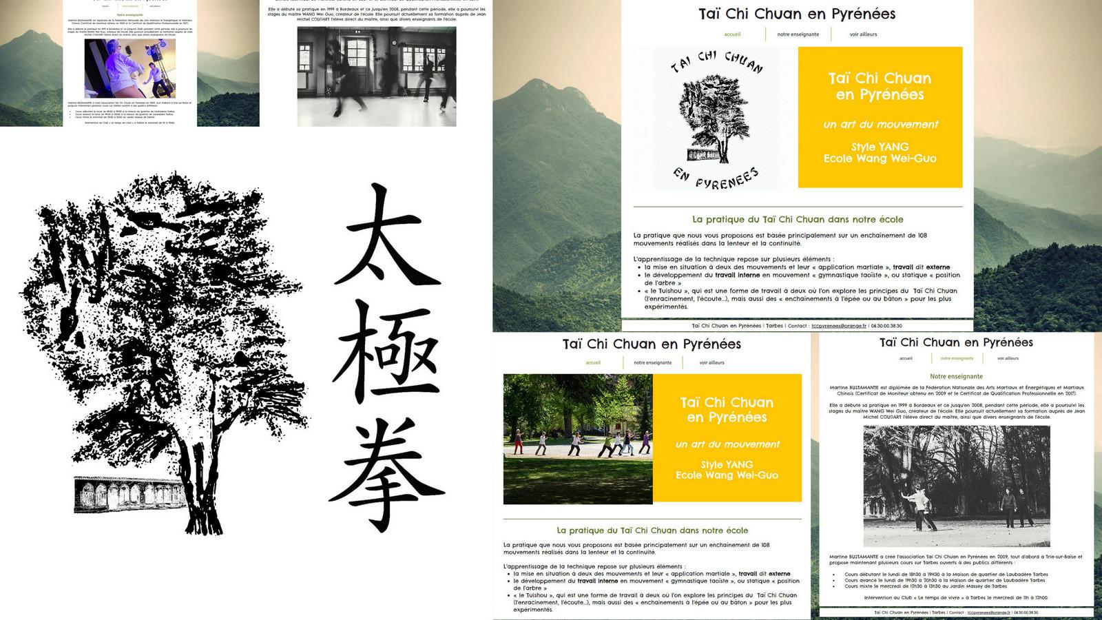 Création de logo, site web, référencement et bien-sûr photos