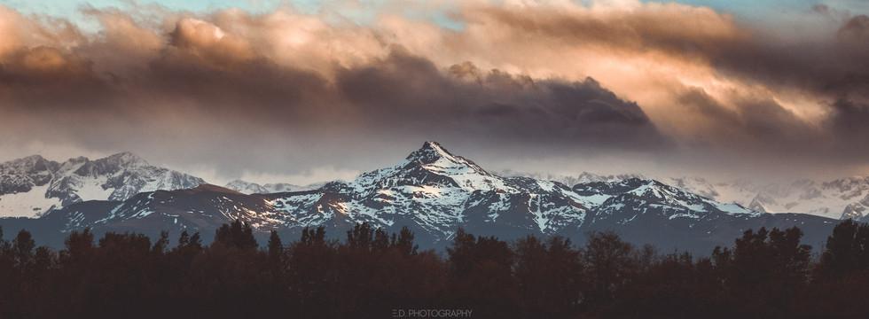 le pic du Montaigu (Hautes-Pyrénées)