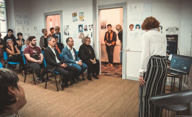 Inauguration de l'institut Anaten, Tarbes, 15 mai 2019
