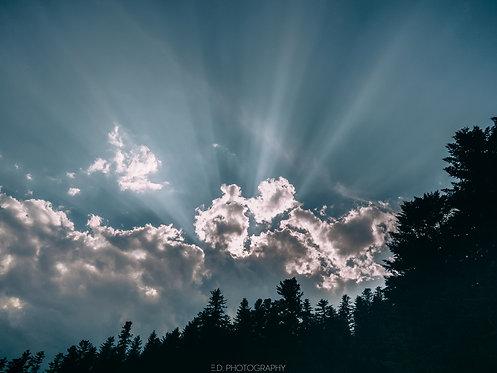 Clouds (Blue)
