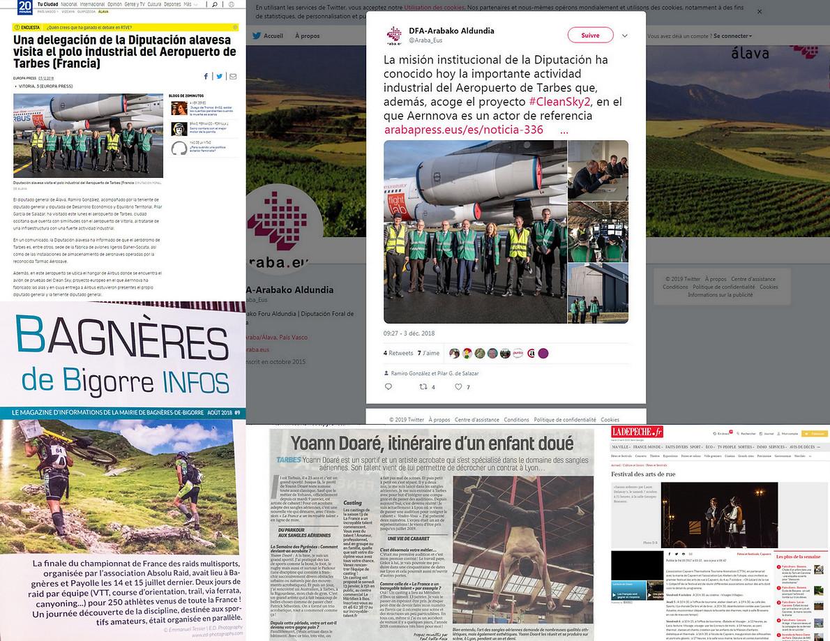 E.D. Photography dans la presse, sur twiter...