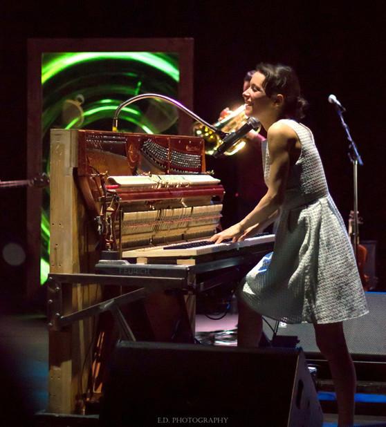 Emily Loizeau, concert à l'Espace James Chambaud, Pau (1er Février 2018).