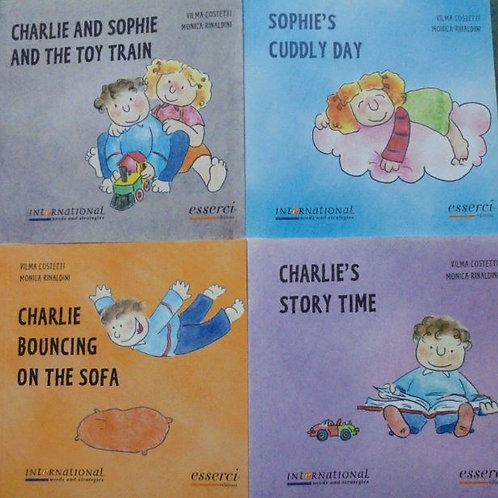 Heart Talk PreK-1st Books (only available with curriculum purchase)