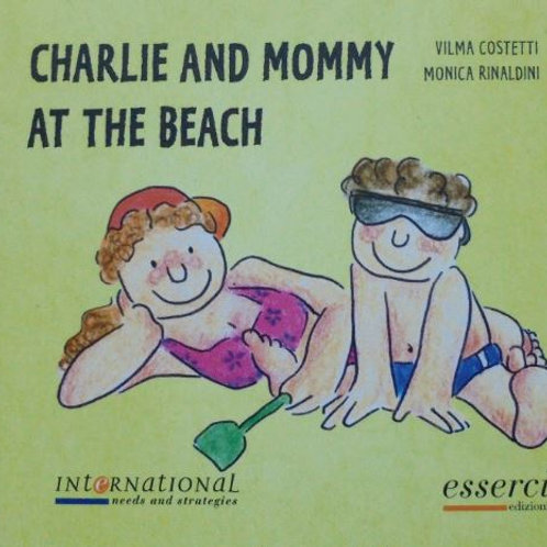 Charlie and Mommy at the Beach