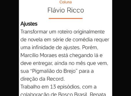 Dani Reule é roteirista-colaboradora de Marcílio Moraes