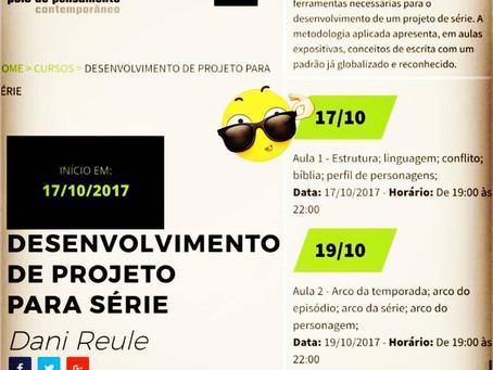 Curso de Desenvolvimento de Projeto para Série - em Outubro