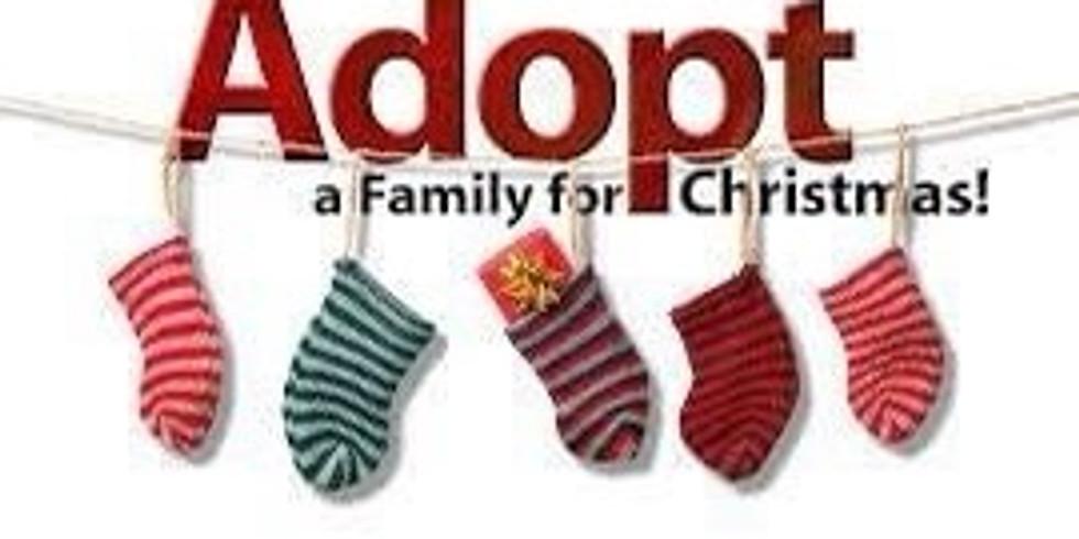 Sponsor a family for Christmas