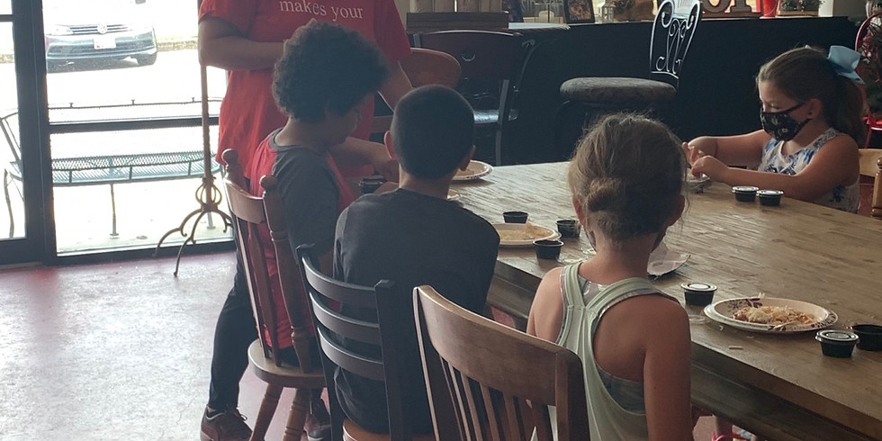 Kids cooking class 3-4:30pm